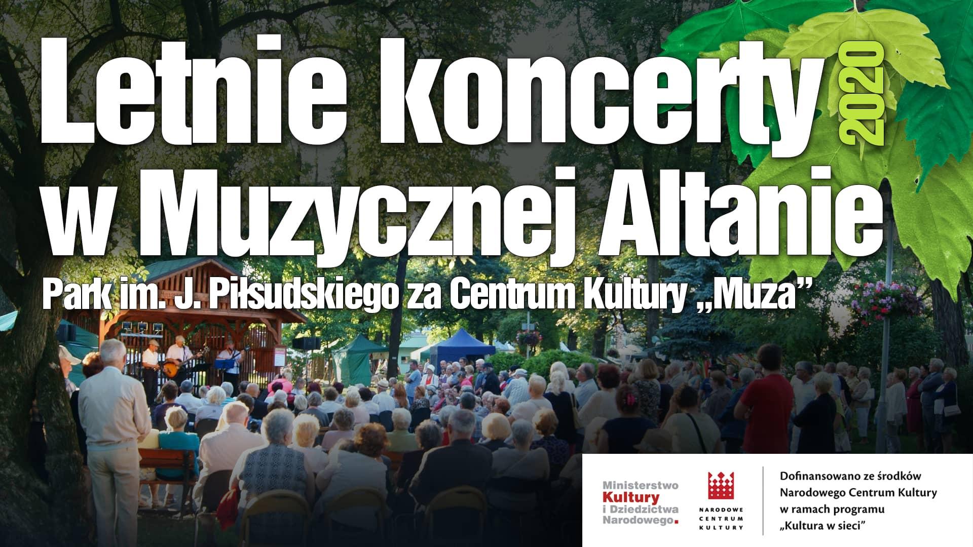 Letnie Koncerty w Muzycznej Altanie